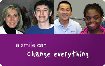 a smile can change everything