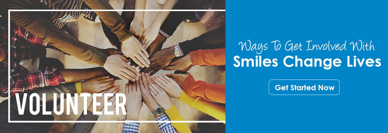 volunteer with smiles changes lives