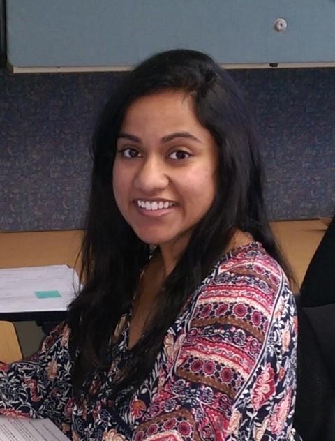 SCL Volunteer, Namana Rao