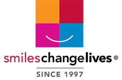 smiles change lives logo footer