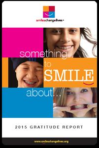 2015 gratitude report for smiles change lives