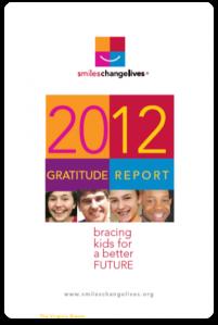 2012 gratitude report