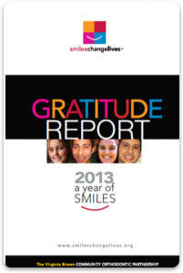 2013 gratitude report