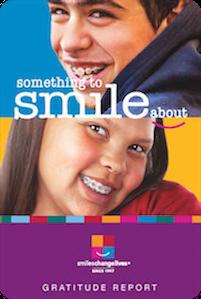 2017 gratitude report for smiles change lives