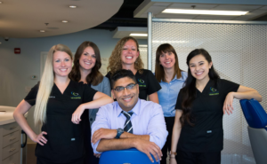 The staff of Century City Orthodontics