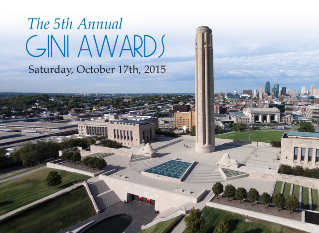 Gini Awards invite cover
