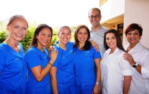 Dr. Steven Zombek with Staff